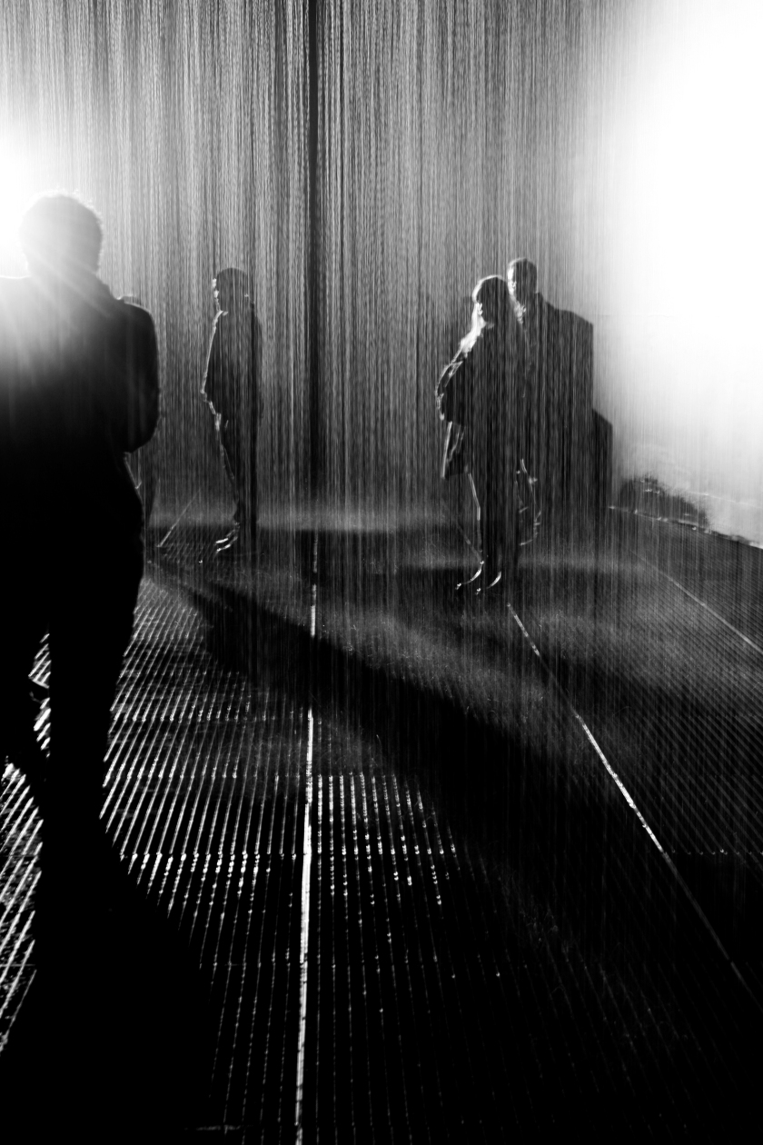 The Rain Room, Barbican