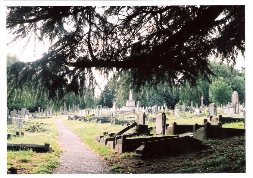 Graveyard in Bath