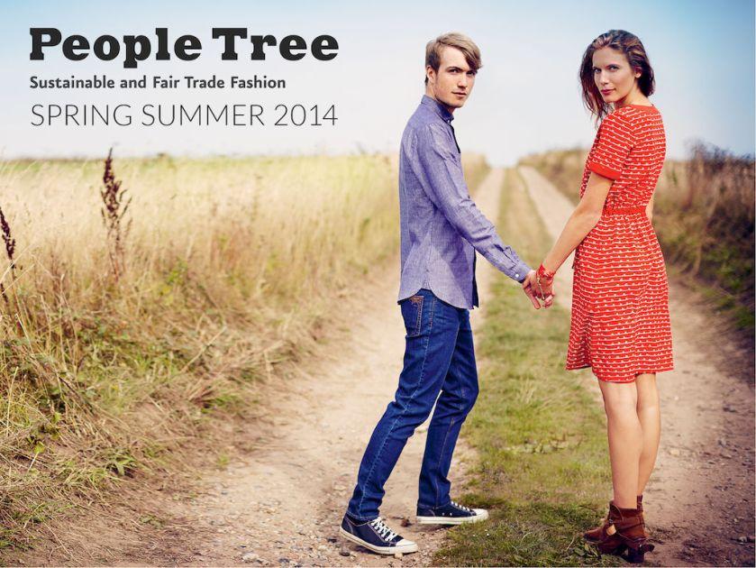 People Tree SS14 Lookbook