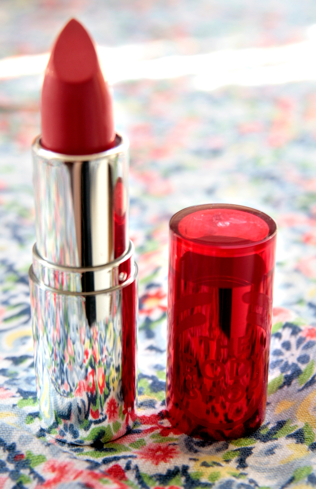 The Body Shop Colour Crush Lipstick in Sweet Coral
