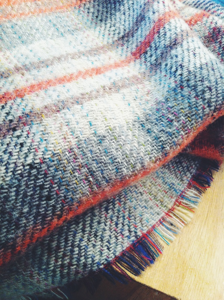 Recycled Wool blanket from English Heritage | Photo: Laura Peta