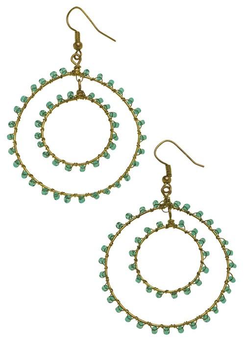 People Tree double-hoop-earrings-